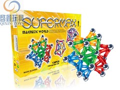 QXII-138C (magnetic game) Tags: puzzle babytoy magnetictoy educationaltoy magneticbuildinggame magnetigame