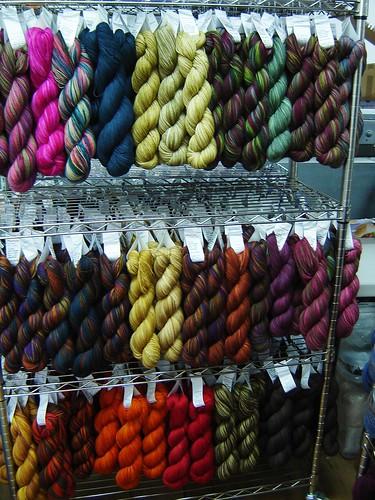 Yummy sock yarn
