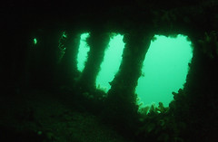 Inside the Endeavour (GLUG Divers) Tags: flow july wreck northern 2008 isles scapa glug
