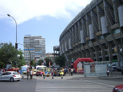 Salida Rally Bernabeu