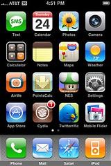 My jailbroken 3G