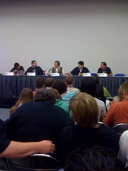 """An Introduction to Webcomics"" panel"