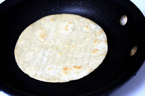 flip the tortilla