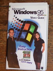 MS WINDOWS 95 VHS VIDEO GUIDE