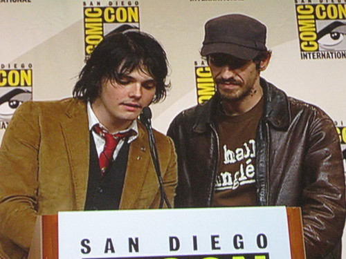 Gerard Way and Gabriel Ba by dryponder.