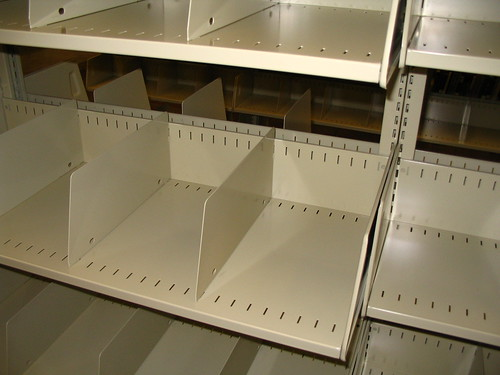 New Score Shelving - Oversize Close-up