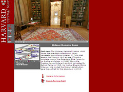 Widener Library Virtual Tour Screen Capture