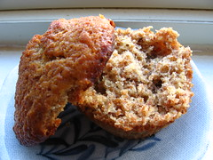 Honey Bran Muffins With Figs