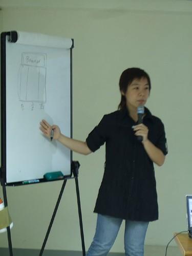 你拍攝的 20080811eComing-電子報實作研討030。
