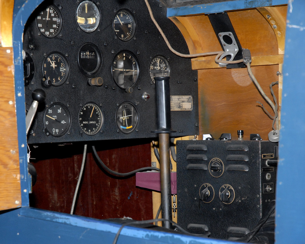 Southern Flight Museum, link trainer instrumentation 2