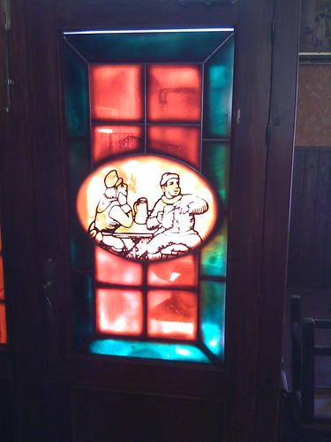 Cool bar door