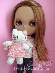 Bianca and Hello Kitty