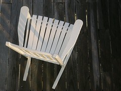 White Rocker (johndalles) Tags: beach relax chair northcarolina minimal deck coastal invitation rocker porch carolina raindrops subtle platinumphoto costalcarolina johndalles