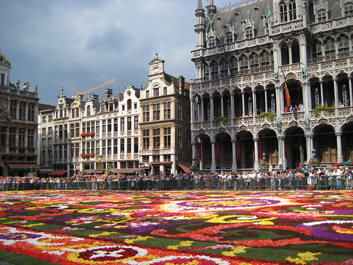 Brussels flower carpet por sigfus.sigmundsson.