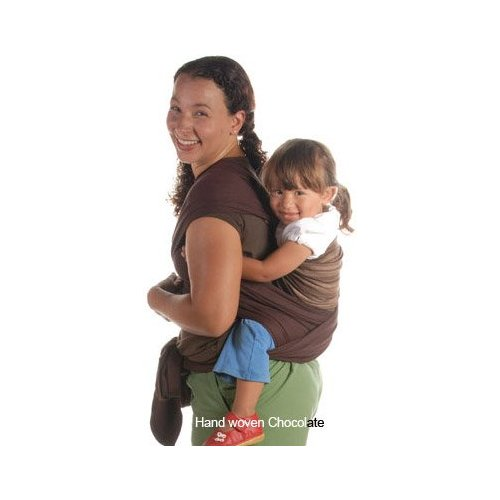 Moby D Wrap Baby Carrier - Earth w Chocolate
