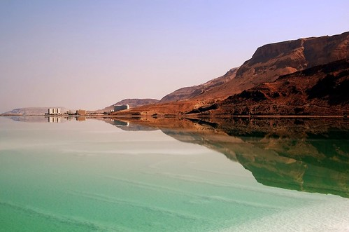 The salty waters of the Dead Sea by bachmont, on Flickr