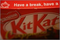 Have a break, have a Kit Kat (dxsibo o(_)o) Tags: singapore kat kit cappuchino cappucino flavour