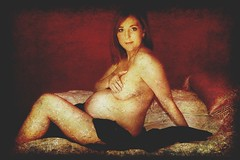 Repose (Cathleen Tarawhiti) Tags: red people woman beautiful relax birth pregnancy pregnant belly health tummy future months repose cathleen goldenglobe unlimitedphotos tarawhiti globalworldawards