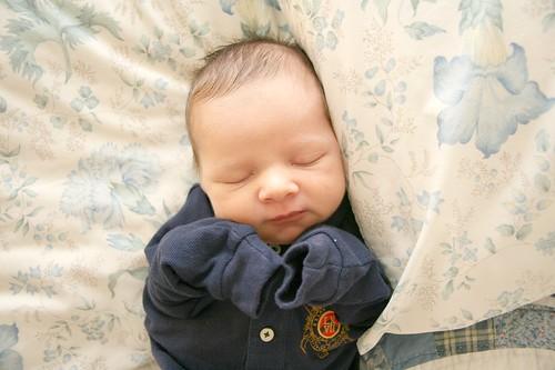aiden - nine days old