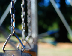 Swinging HBW (Gigapic) Tags: park school usa oregon bokeh united swings states interestingness480 hbw herowinner