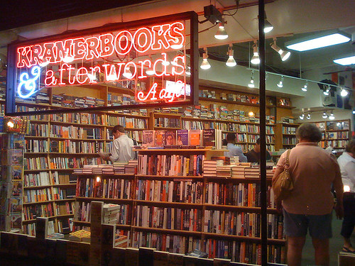 Kramerbooks & afterwords in Dupont Circle, Washington DC - Taken With An iPhone