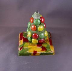 No, it isn't a grenade... (ARTerEgo) Tags: wood glass mixedmedia polymerclay apoxiesculpt artdollinprogress decoupagesculptureinprogress