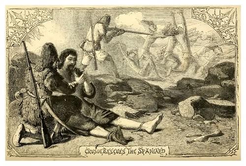 18-Robinson Crusoe rescata al español