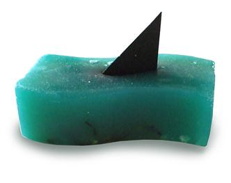 Shark Fin Soap Cleans Your Nuts With Style