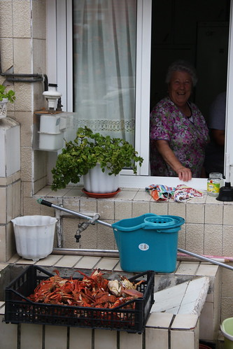 Crabs and Cooking Señora