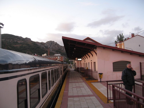 Guarda Station - El Transcantabrico - a luxury train in Spain, charter from Train Chartering