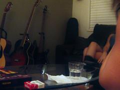 Sep 18 / IMG_6661 (tavopp) Tags: party night book noche women fiesta legs guitars libro sala livingroom drinks alcohol utata marlboro chicas sillon cigar