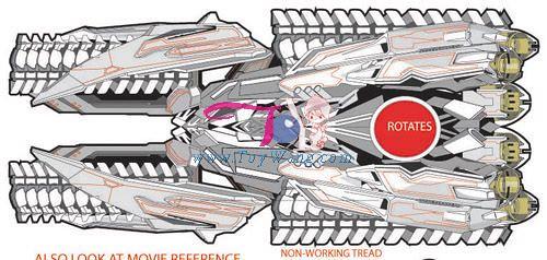 Megatron tanque Transformers 2