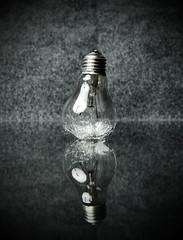Replacement (jæms) Tags: light colour glass bulb smash globe topf50 break explore damage destroy soundtrigger hiviz remoteflash remoteshutter strobist seekingrecognitionchallenge