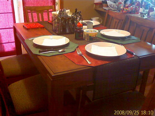 Donna's new dining set