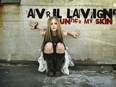 Avril Lavigne Under My Skin (Avril Ramona Lavigne) Tags: wallpaper skin under l avril lavigne my