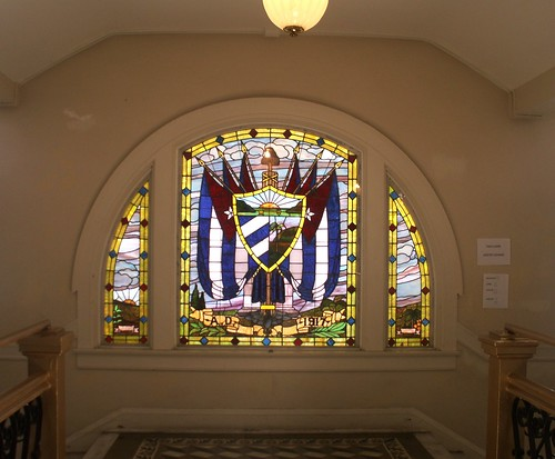 Stained-Glass Window at the Cuban Club