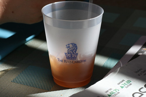 Ritz-Carlton glass