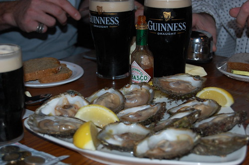 Oysters and Guiness