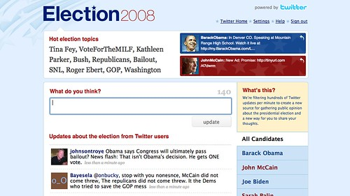 Twitter - Election 2008