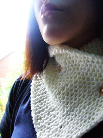 Dani's neck wrap by you.