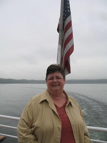 flag mom