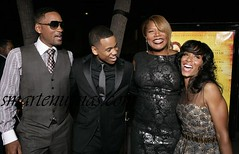 will smith , mike from the wire , queen latifah and jada