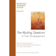 The Abiding Questions of Free Congregations -- Click here to purchase from Amazon.com