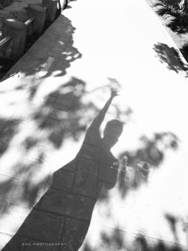 影 。自己