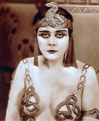 Theda Bara as Cleopatra!