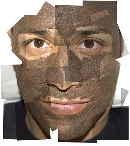 masque au chocolat
