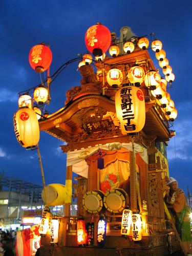 kawagoe festival 2008.10.18