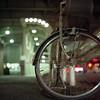 bicycle (F_blue) Tags: tokyo kodak hasselblad roppongi 六本木 500cm portra160nc planart c8028 fblue2008