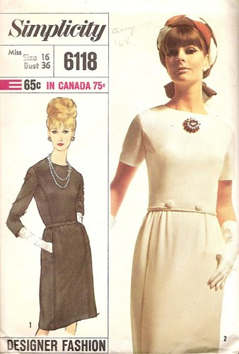 Designer Dress Patterns For Sewing Vintage sewing pattern