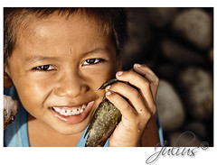 isda (J u l i u s) Tags: sea fish pool stone canon sigma 70200 dagat visca leyte baybay isda 50d